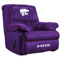 Kansas State University Microfiber Home Team Recliner