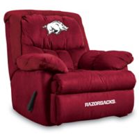 University of Arkansas Microfiber Home Team Recliner