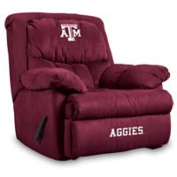 Texas A&M University Microfiber Home Team Recliner