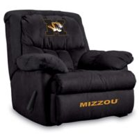 University of Missouri Microfiber Home Team Recliner
