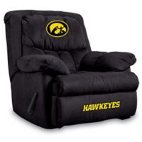 University of Iowa Microfiber Home Team Recliner