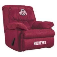 Ohio State University Microfiber Home Team Recliner
