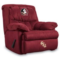Florida State University Microfiber Home Team Recliner