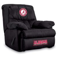 University of Alabama Microfiber Home Team Recliner