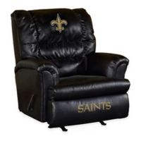 NFL New Orleans Saints Leather Big Daddy Recliner