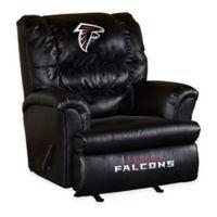 NFL Atlanta Falcons Leather Big Daddy Recliner