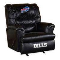 NFL Buffalo Bills Leather Big Daddy Recliner