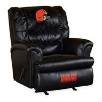 NFL Cleveland Browns Leather Big Daddy Recliner