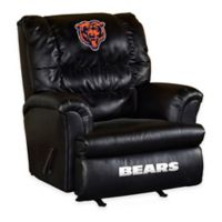 NFL Chicago Bears Leather Big Daddy Recliner