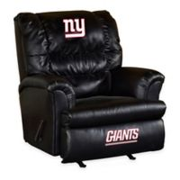NFL New York Giants Leather Big Daddy Recliner