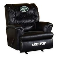 NFL New York Jets Leather Big Daddy Recliner