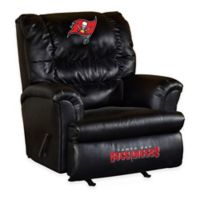NFL Tampa Bay Buccaneers Leather Big Daddy Recliner