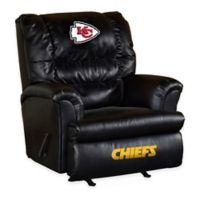 NFL Kansas City Chiefs Leather Big Daddy Recliner