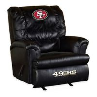 NFL San Francisco 49ers Leather Big Daddy Recliner