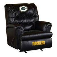 NFL Green Bay Packers Leather Big Daddy Recliner