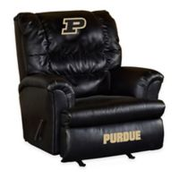Purdue University Leather Big Daddy Recliner