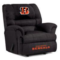 NFL Cincinnati Bengals Microfiber Big Daddy Recliner