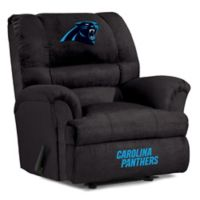 NFL Carolina Panthers Microfiber Big Daddy Recliner