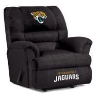 NFL Jacksonville Jaguars Microfiber Big Daddy Recliner