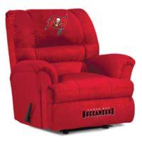 NFL Tampa Bay Buccaneers Microfiber Big Daddy Recliner