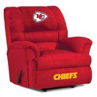 NFL Kansas City Chiefs Microfiber Big Daddy Recliner