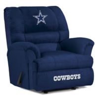 NFL Dallas Cowboys Microfiber Big Daddy Recliner