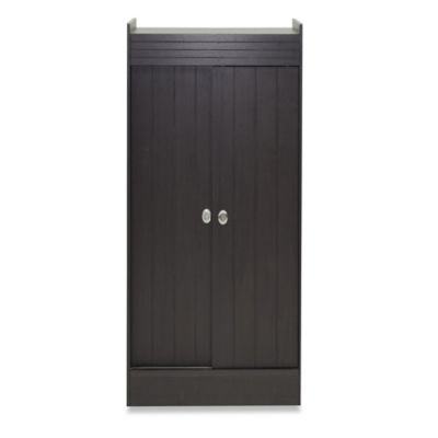baxton studio glidden 45inch double door shoerack cabinet in espresso