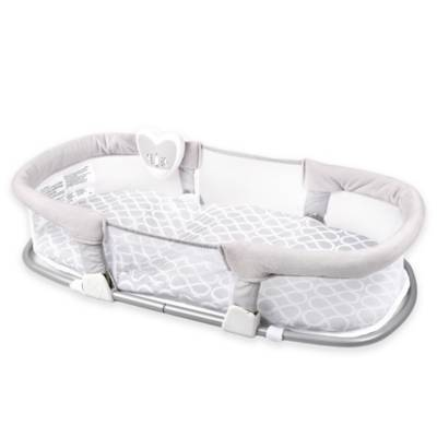 Swaddleme 174 Deluxe By Your Side Sleeper In Grey Buybuybaby