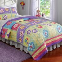 Sweet Helena Twin Quilt Set