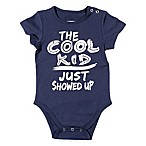FREEZE Size 0-3M  The Cool Kid Just Showed Up  Bodysuit in Navy