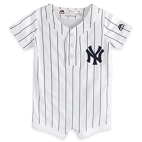 ... MLB New York Yankees Newborn Jersey Romper An authentic ... 0228f8d3e