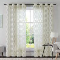 VCNY Aria 95-Inch Window Curtain Panel in Ivory