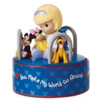 "Precious Moments® Disney® ""You Make My World Go Around"" Musical Figurine"