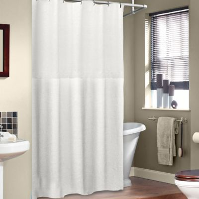 Soho 72 Inch X 75 Linen Shower Curtain In White