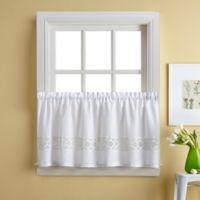 Kendra 36-Inch Window Curtain Tier Pair