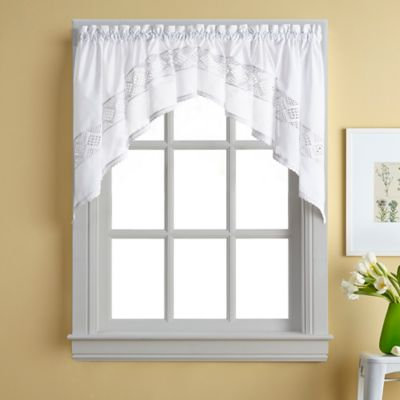 Kendra Window Curtain Swag Valance