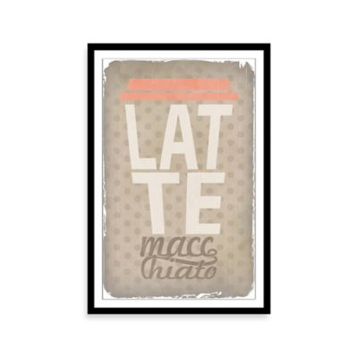 Latte Macchiato Framed Wall Art
