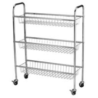 Household Essentials® Utility Cart in Chrome