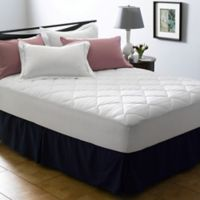 Dr. Maas™ 400-Thread-Count Twin Mattress Pad in White