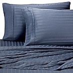 Pure Beech Modal® Dobby Stripe Queen Sheet Set in Blue