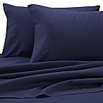 Benzoyl Peroxide-Resistant Microfiber Full Sheet Set in Dark Blue