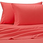 Benzoyl Peroxide-Resistant Microfiber Standard Pillowcases in Salmon (Set of 2)
