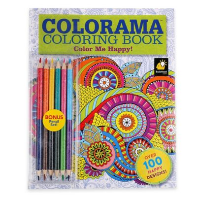 This is a picture of Insane Colorama Coloring Book Flowers Paisleys Stained Glass And More