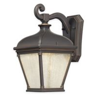 Minka Lavery® Lauriston Manor 13-Inch LED Wall-Mount Outdoor Light in Oil-Rubbed Bronze
