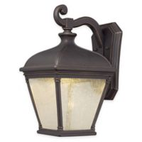 Minka Lavery® Lauriston Manor 1-Light LED Wall-Mount Outdoor Lantern in Oil-Rubbed Bronze