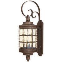 Minka Lavery® Mallorca™ Wall-Mount Outdoor 4-Light Lantern in Rust