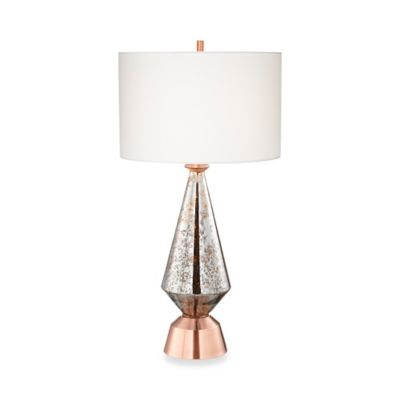 Buy pacific coast lighting glass table lamp from bed bath beyond pacific coast lighting bellini table lamp in brushed antique copper aloadofball Gallery