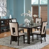 Steve Silver Co. Delano 6-Piece Standard Height Dining Set in Espresso Cherry