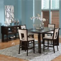 Steve Silver Co. Delano 6-Piece Counter Height Dining Set in Espresso Cherry