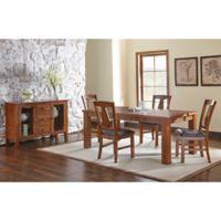 Steve Silver Co. Lakewood 6-Piece Standard Dining Set in Oak